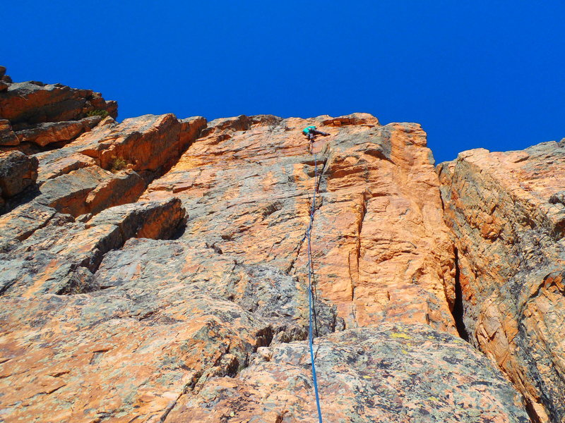 Rock Climbing Photo: crack in the stack
