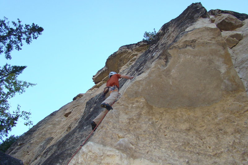 I finally got my redpoint after three seasons of working this route.