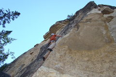 Rock Climbing Photo: I finally got my redpoint after three seasons of w...