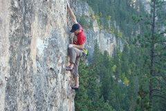 Rock Climbing Photo: The Tomahawk, 5.11a.