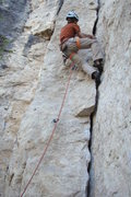 Rock Climbing Photo: Totally Flaked, 5.9+  A must do canyon classic!