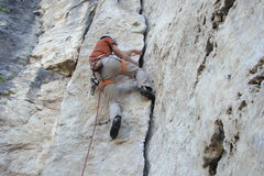 Rock Climbing Photo: Totally Flaked, 5.9+ Headshop Wall. Mohican. Spear...