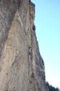 Rock Climbing Photo: This is a really nice, very sustained climb.