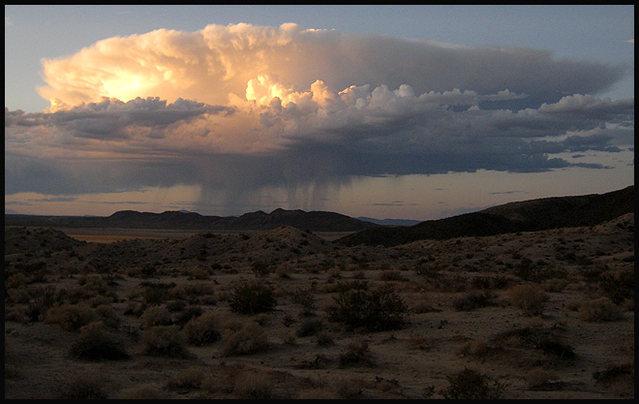 Rock Climbing Photo: Desert Thunderhead. Photo by Blitzo.