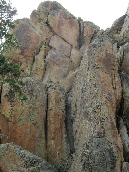 Rock Climbing Photo: East Face.