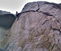 Rock Climbing Photo: Agony Arch