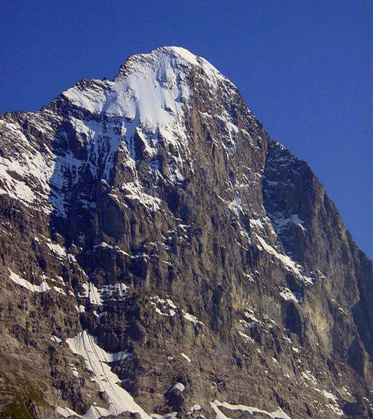Rock Climbing Photo: Eiger North and Northeast faces