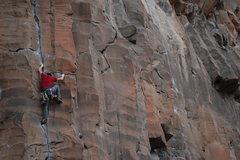 Rock Climbing Photo: On Quasar  Photo: Reed Cusack