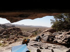 Rock Climbing Photo: View from under Moonshine