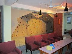 Rock Climbing Photo: Indoor climbing wall.