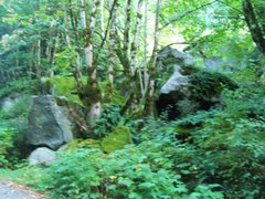 Rock Climbing Photo: Blurry but still gives an idea of where it is...