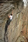 Rock Climbing Photo: Put your heel on the sloper, don't mind the spicy ...