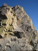 "Rock Climbing Photo: This photo gives some sense of scale to the ""..."