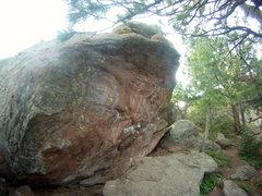 Rock Climbing Photo: Amphitheater's Backside.