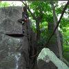 The second ascent.  Proud line!