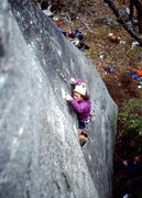 Rock Climbing Photo: Porter early on Organized Confusion taken from Spi...
