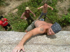 Rock Climbing Photo: Bouldering in Malaysia