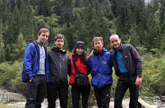 Rock Climbing Photo: With the Catalan team; as the photographer, cook, ...