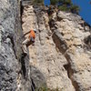 July 4th, 5.10a<br> Sunshine Wall<br> Spearfish Canyon