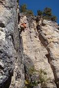 Rock Climbing Photo: July 4th, 5.10a