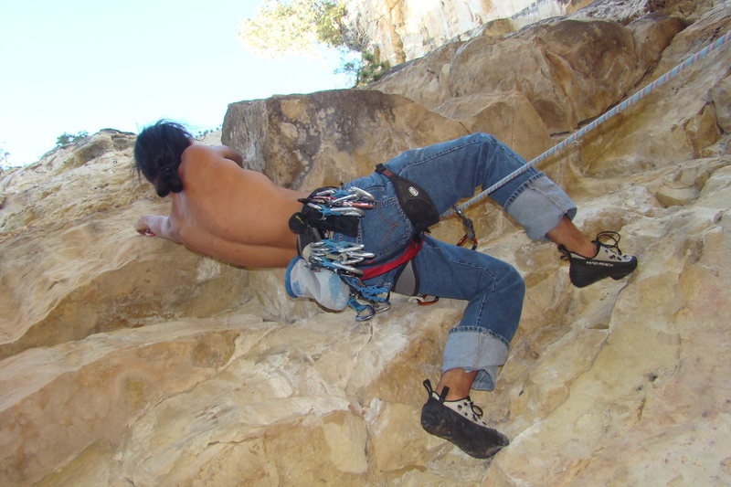 Rock Climbing Photo: Opening roof.