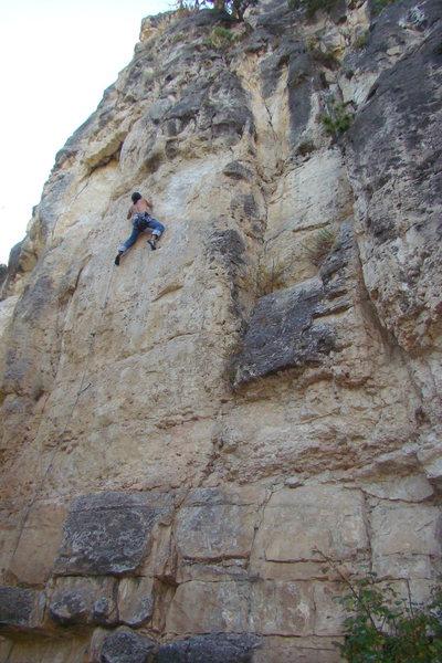 Rock Climbing Photo: Dr. Feelgood, 5.11b