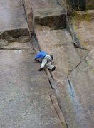 Rock Climbing Photo: I think Whimsical Dreams 5.11c