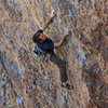 Allen starting up<br> Corn on the Cobble (5.11)