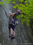 Rock Climbing Photo: The Zip