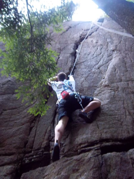 Ben Botelho on Fast and Furious(5.8), Beer Walls, Adirondacks, NY