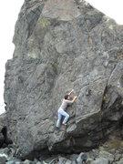 Rock Climbing Photo: Sonoma Coast , Seagull Arete