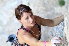 Rock Climbing Photo: Leyla; Geyikbayiri.  She breathes, eats and climbs...