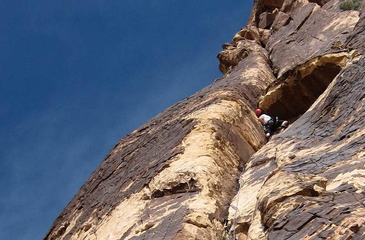Rock Climbing Photo: Juby..
