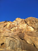 Rock Climbing Photo: toprope shenanigans