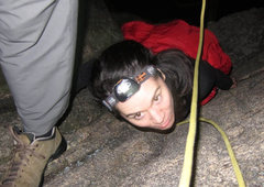 "Rock Climbing Photo: In my best British accent (Cos's accent)....""..."