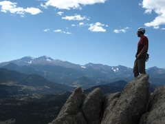 Rock Climbing Photo: Alan Ream, gazing wistfully once again at the stan...