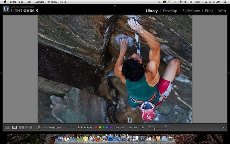 "Screen grab of Mike Foley on the ""V12"" crux of Jaws II. I may post more images following publication of similar images... www.bagleyheavybags.blogspot.com."