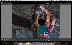 "Rock Climbing Photo: Screen grab of Mike Foley on the ""V12"" c..."