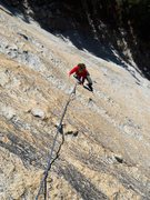 Rock Climbing Photo: The top of pitch 3 reminds me of the sort of &quot...