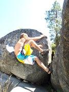 Rock Climbing Photo: messin around