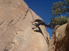 Rock Climbing Photo: Start of Night Stalker