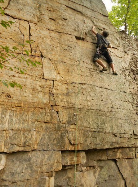Rock Climbing Photo: Edge-U-Cation, in Franklin, WV.