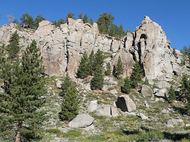 Parking Lot Rock, Clark Canyon <br>
