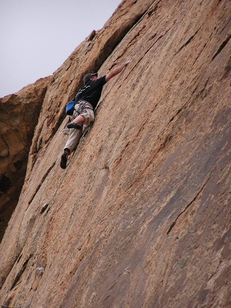 Rock Climbing Photo: Going for the jug!
