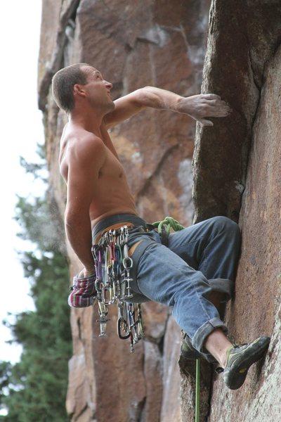 Rock Climbing Photo: Onsight.