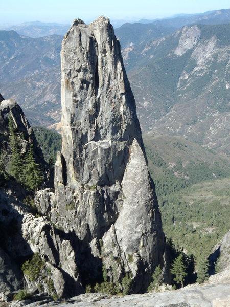 Rock Climbing Photo: The spire