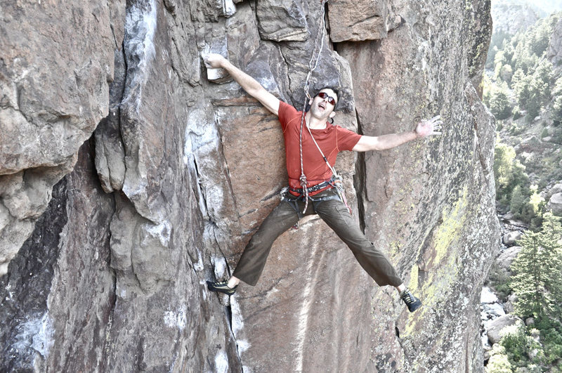 Rock Climbing Photo: Rob Kepley on P1.