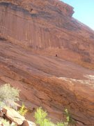 Rock Climbing Photo: Showing the climb