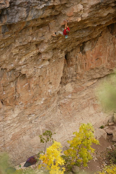 Rock Climbing Photo: One of many from this sweeeet route