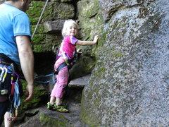 Rock Climbing Photo: The Corbett family...